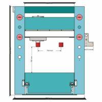 Metallkraft WPP 200 RT hidraulikus műhelyprés