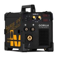 Iweld Gorilla Pocketmig 185 Aluflux + hegesztőkocsi és reduktor